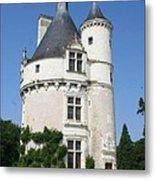 Chateau Chenonceau  Tower  Metal Print