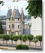 Chateau D'angers - Chatelet View Metal Print