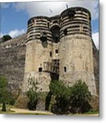 Chateau D'angers - France Metal Print