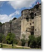 Chateau D'angers - The Keep Metal Print