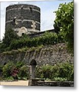 Chateau D'angers Tower Metal Print