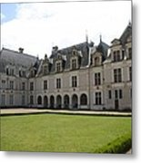Chateau De Beauregard Loire Valley Metal Print