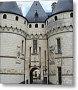 Chateau De Chaumont - France Metal Print
