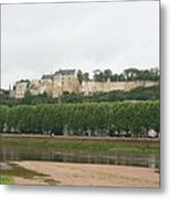 Chateau De Chinon - France Metal Print