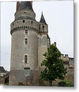 Chateau De Langeais Tower Metal Print