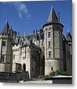 Chateau De Saumur Metal Print