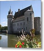 Chateau De Sully-sur-loire And Moat Metal Print