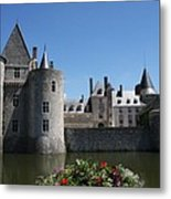 Chateau De Sully-sur-loire View Metal Print