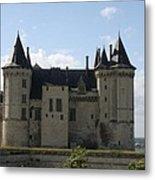 Chateau Saumur - France Metal Print