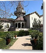 Chateau St. Jean Winery 5d22202 Metal Print by Wingsdomain Art and Photography