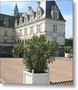 Chateau Villandry View Metal Print