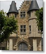 Chatelet - Chateau D'angers  Metal Print