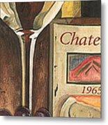 Chateux 1965 Metal Print by Debbie DeWitt