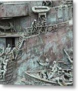 Chatham Dockyard Memorial Metal Print