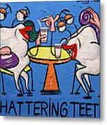 Chattering Teeth Dental Art By Anthony Falbo Metal Print