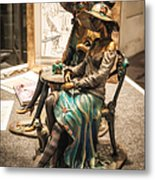 Chatting Ladies Of Royal Street Metal Print