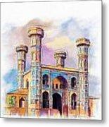 Chauburji Lahore Metal Print