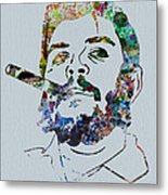 Che Watercolor Metal Print