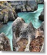 Cheakamus River Channel Metal Print
