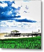 Chechessee River Style Metal Print