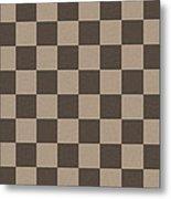 Checkerboard Pattern Fractal Flame Metal Print by Keith Webber Jr