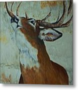 Checking Scent Limb Metal Print