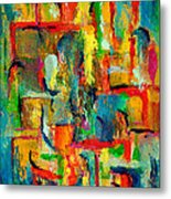 Checkmate Metal Print by Larry Martin