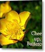 Cheer Up Buttercup Metal Print