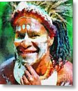Cheerful Guy Metal Print