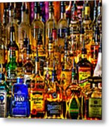 Cheers - Alcohol Galore Metal Print
