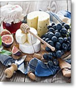 Cheese Board Metal Print