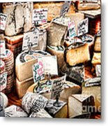 Cheese Shop Metal Print
