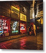 Cheezborger Cheezborger At Billy Goat Tavern Metal Print