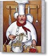 Chef 4 Metal Print by John Zaccheo