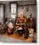 Chef - Kitchen - Cleaning Cherries  Metal Print