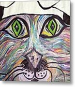 Chef Pierre ... A Cat With Good Taste Metal Print