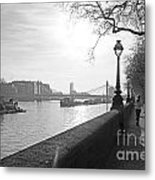 Chelsea Embankment London Uk 3 Metal Print