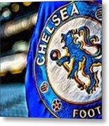 Chelsea Football Club Poster Metal Print