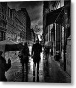 Chelsea Rain Metal Print