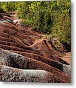 Mars On Earth - Cheltenham Badlands Ontario Canada Metal Print