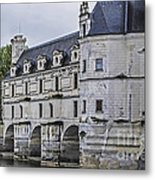 Chenonceau And River Cher Metal Print