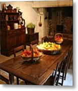 Chenonceau Kitchen  Metal Print
