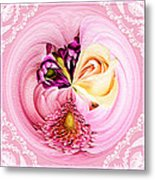Cherished Bouquet Metal Print