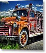 Cherokee Fire Truck Metal Print