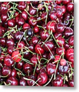 Cherries In Des Moines Washington Metal Print