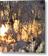 A Cherry Blossom Sunset Metal Print