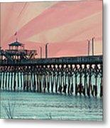 Cherry Grove Fishing Pier Metal Print
