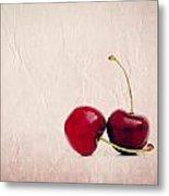 Cherry Love Metal Print