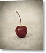 Cherry Metal Print by Taylan Apukovska