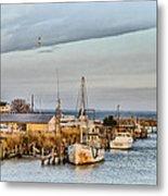 Chesapeake Fishing Boats Metal Print